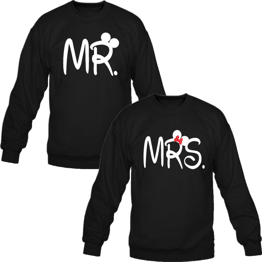 mr and mrs Love couple sweatshirt  Couple hoodies  Pinterest
