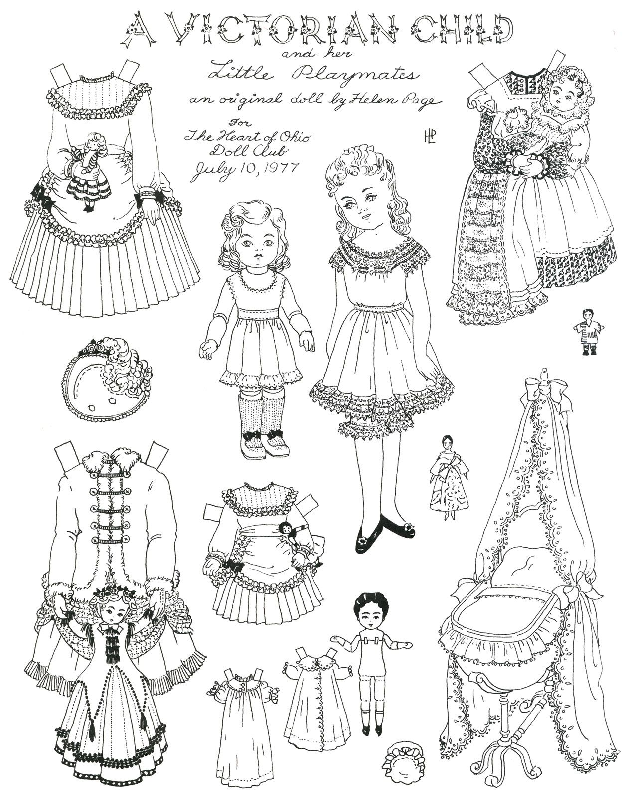 Kids Victorian Clothes Vintage And Victorian Children 2 Paper