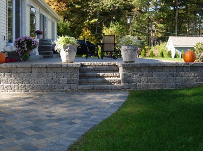 raised patio - Raised Concrete Patio Ideas
