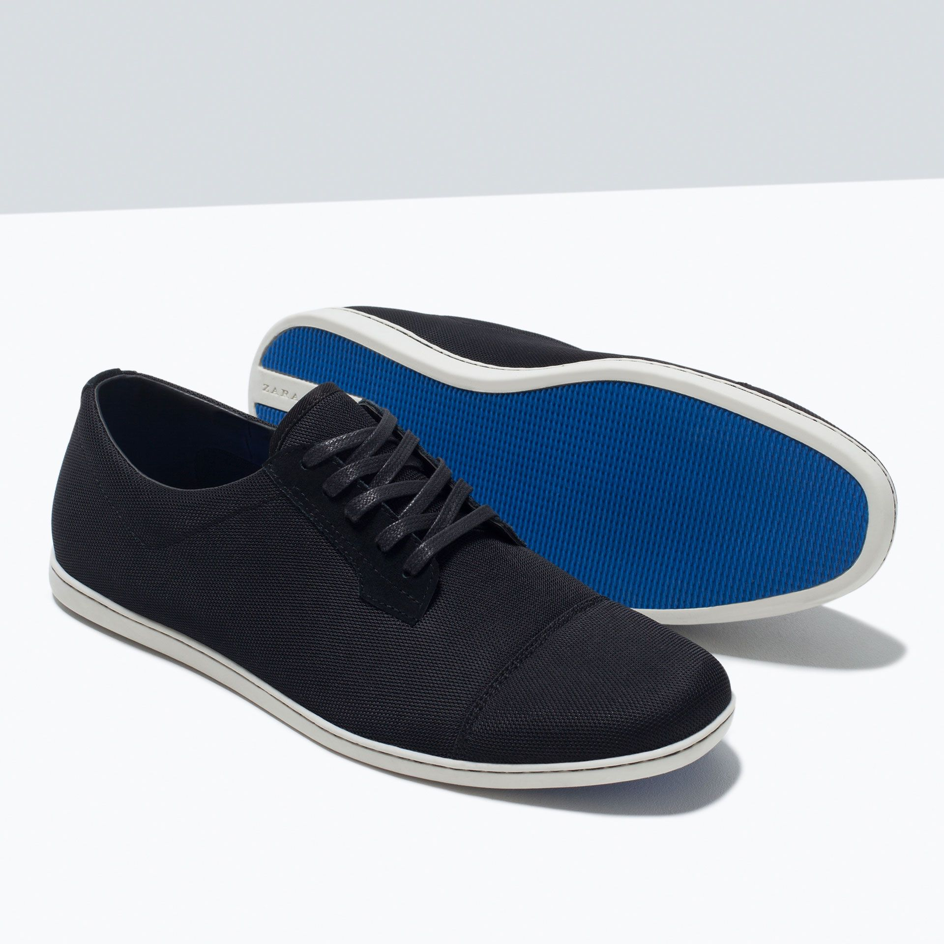 7d06d4688ebb FABRIC CAP TOE SNEAKERS - Shoes - MAN - SALE