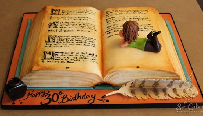 10 prachtige taarten geïnspireerd door boeken