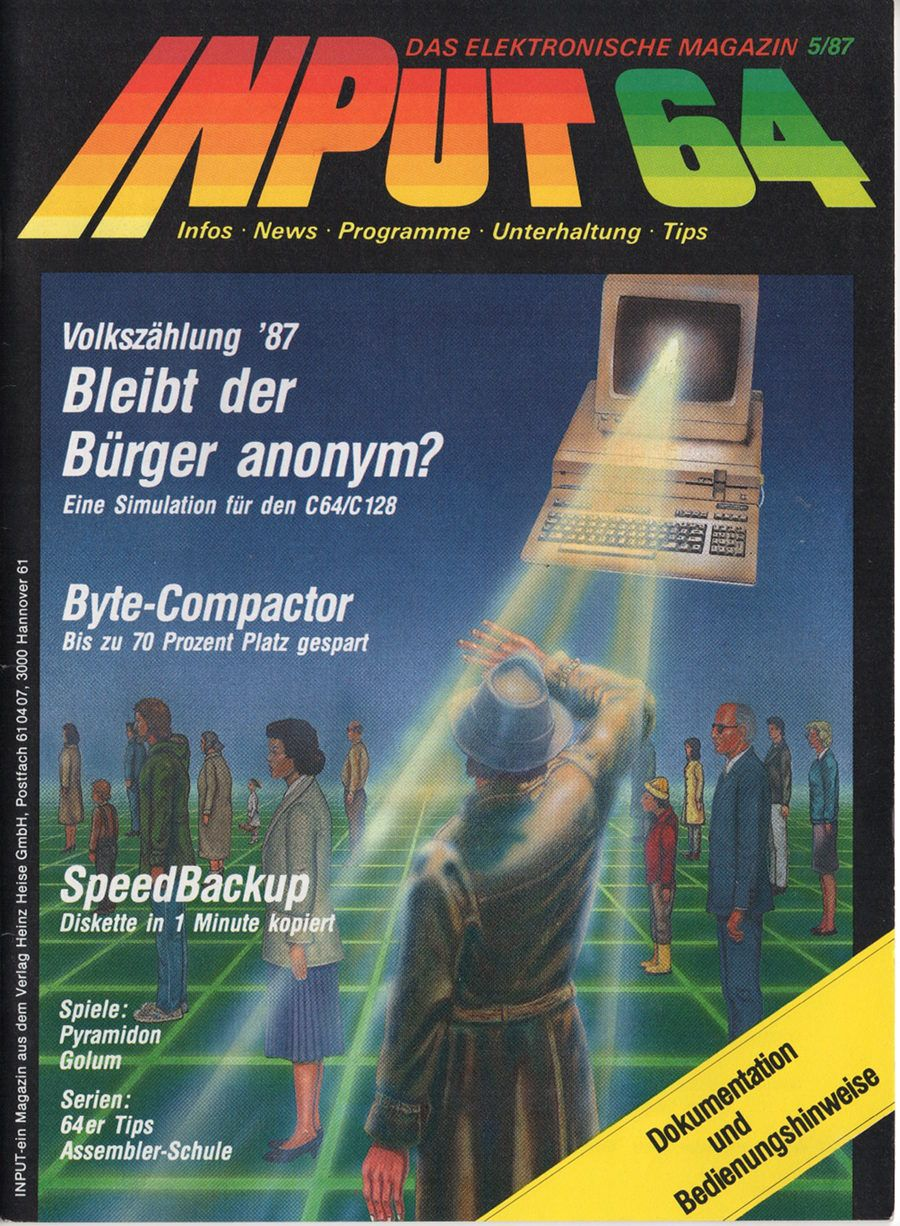 Input 64 05/87 | Commodore C64 in 2019 | Light grid, Gaming