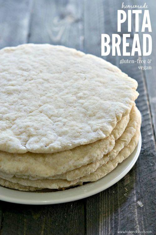Gluten Free Pita Bread From Fork And Beans Gluten Free Pita
