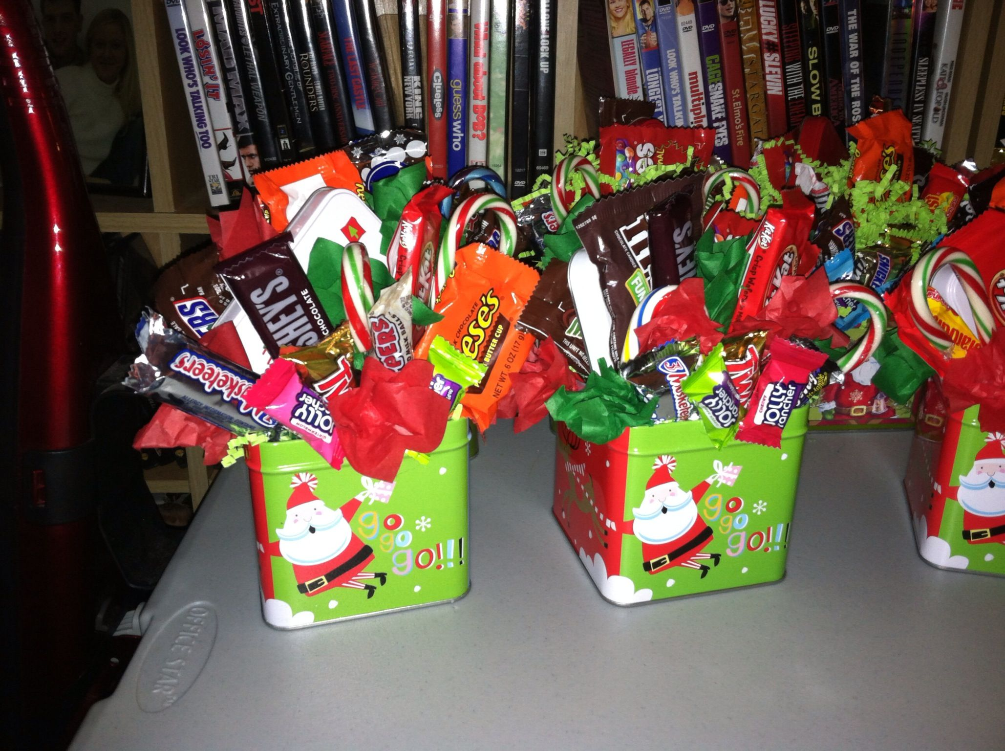Candy Bouquet Christmas Candy Gifts Homemade Christmas Gifts Candy Gift Baskets