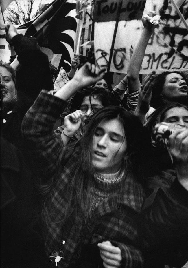 William Klein, Paris, 1995.