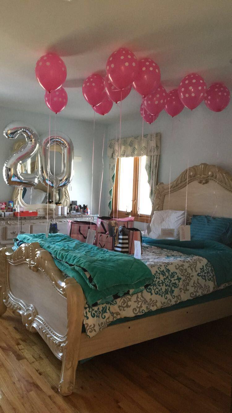 20th Birthday Surprise 20th birthday, Birthday ideas for
