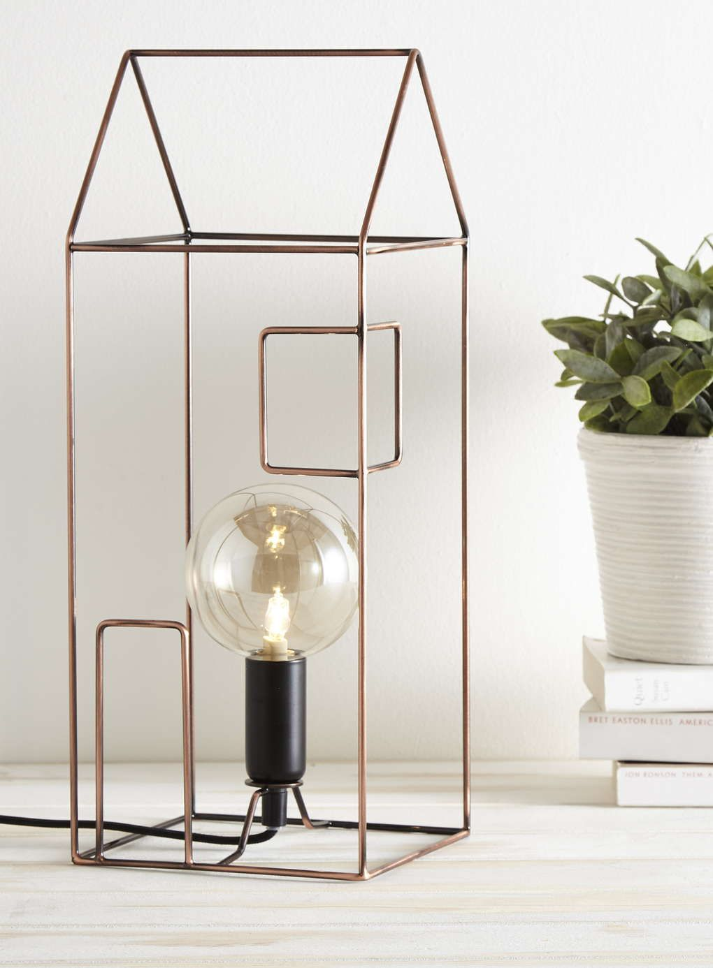 Copper Tall House table lamp - BHS   Home Inspiration   Pinterest ...