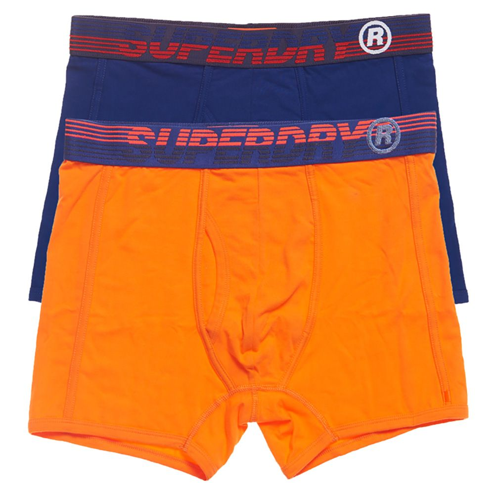 Superdry Sport Double Pack Boxers Downhill Blue / Buck