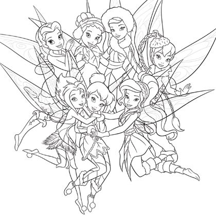 Coloriage Clochette Et Le Secret Des Fees Tinkerbell And Friends Tinkerbell Coloring Pages Fairy Coloring Pages