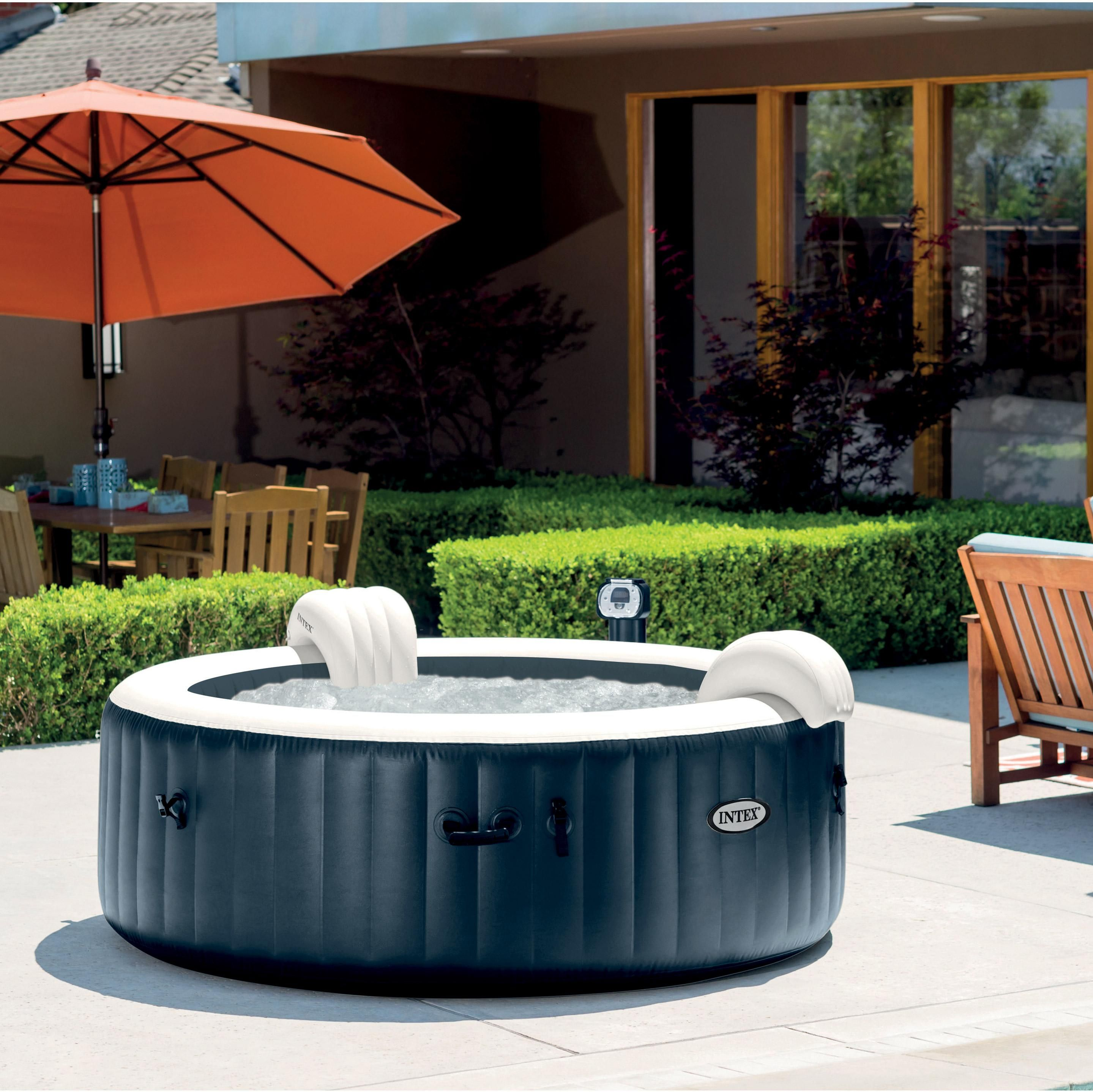 Spa Leroy Merlin Intex 6 Places spa gonflable intex purespa led rond, 6 places assises en