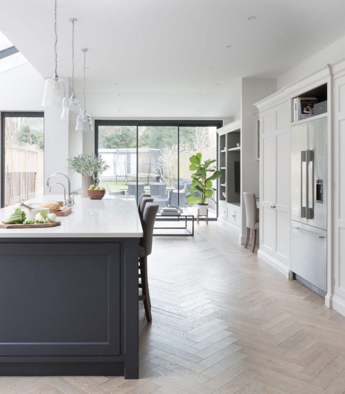 Parquet Flooring Flooring Open Plan Kitchen Living Room Open Plan Kitchen Dining Living Open Plan Kitchen Diner