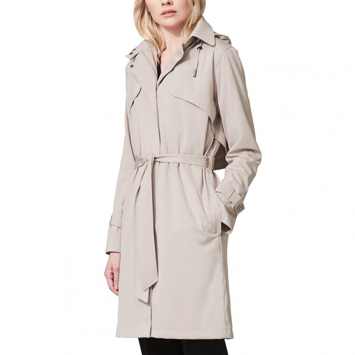 Großhandelsverkauf Großbritannien Straßenpreis Trenchcoat - Creme | Protected Species Figurbetont, feminin ...