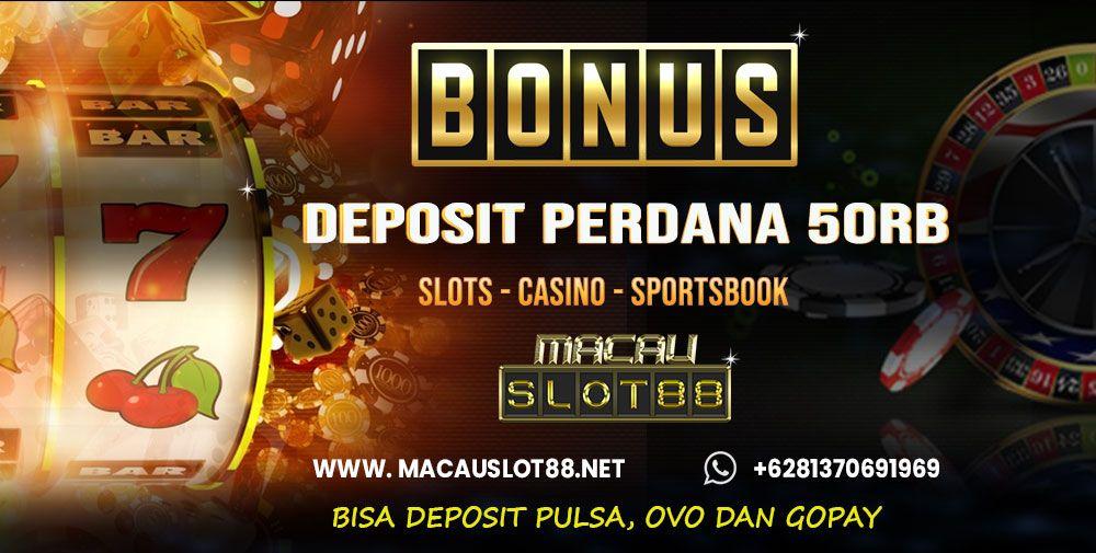 Dapatkan bonus deposit perdana Rp 50 ribuuntuk member baru