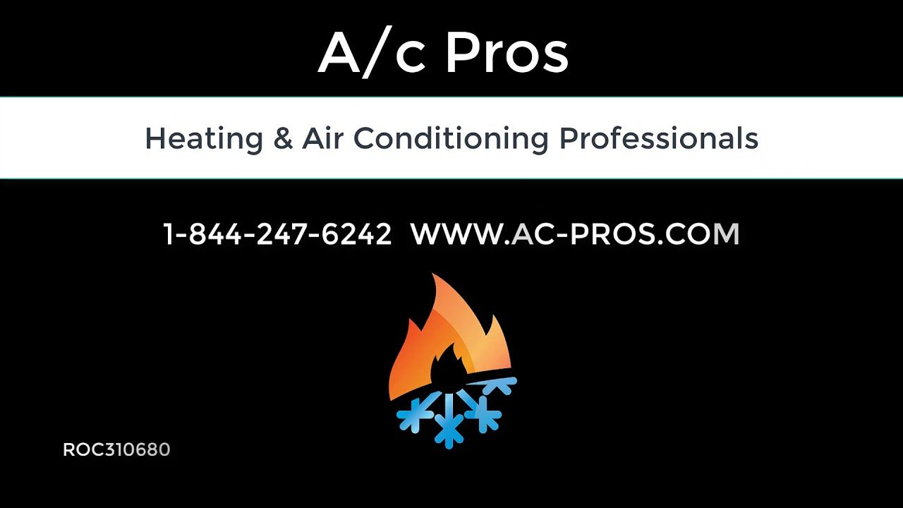 A C Pros Heating And Cooling Professionals Hvac Heating