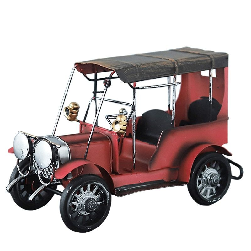 Gift for boyfriend Classic Retro Car Model Crafts vintage home decoration accessories