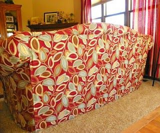 My very own ugly couch makeover - I reupholstered my old ...