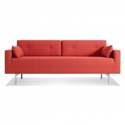 One Night Stand Modern Queen Sleeper Sofa Blu Dot