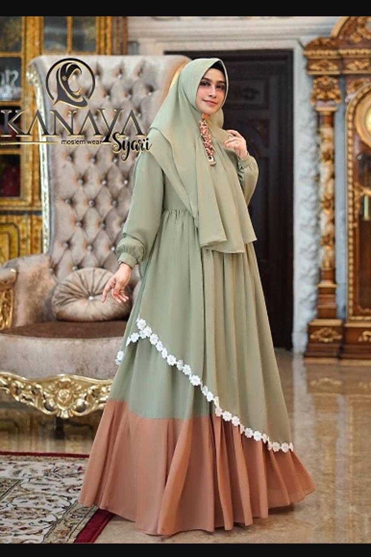 Marrakesh Kanaya Syari Set Khimar Baju Gamis Wanita Terbaru 9