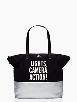 Kate Spade Movie Tote I Used A Regular Black Bag As My Diaper Love Bags