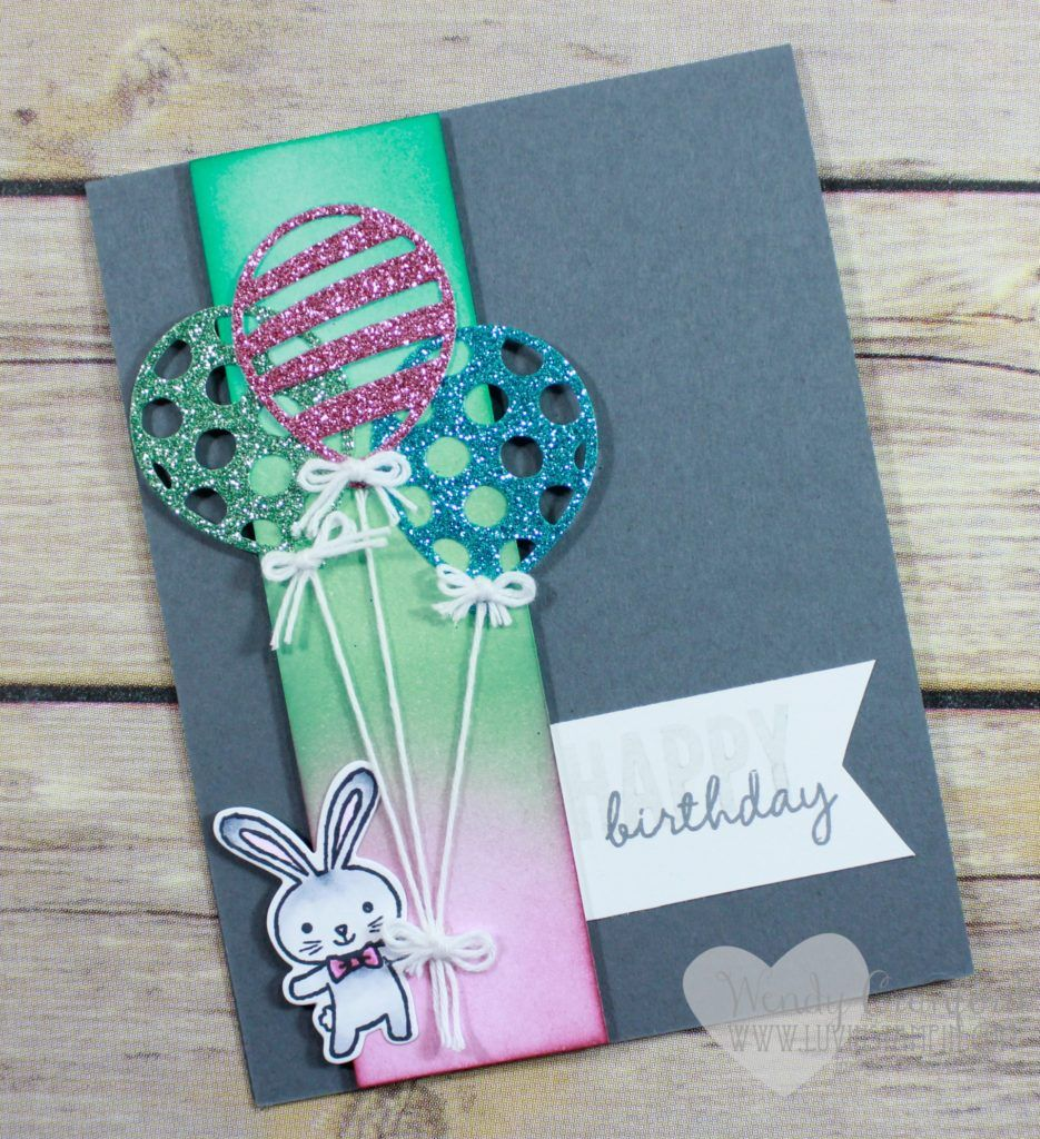 New Sale A Bration Paper For Free Happy Birthday Card Featuring The Basket Bunch Stamp Set From Stampin UP Wendy Cranford Luvinstampin
