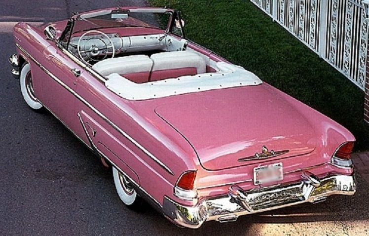 1955 Lincoln Capri Convertible.