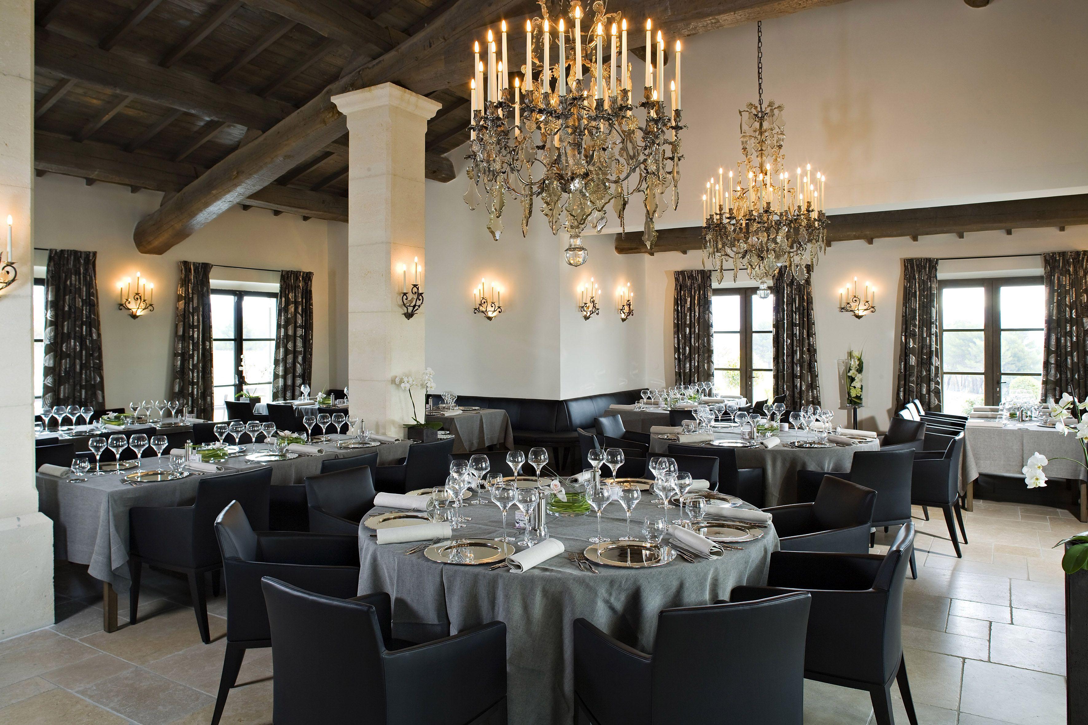 Salle du gourmet restaurant gastronomique 1 toile la - Restaurant gastronomique salon de provence ...