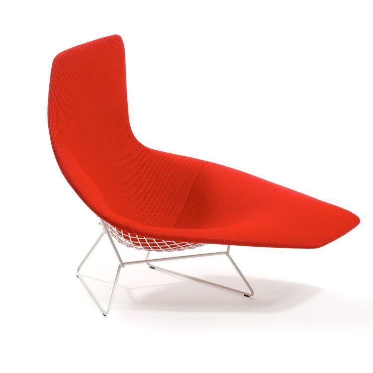 Harry Bertoia Asymmetric Chaise Harry Bertoia Bertoia Armchair Design