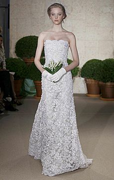 erin cole couture bridal   oscar de la renta