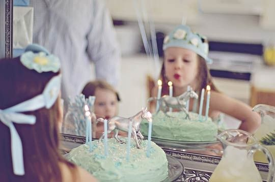 Best Kids Parties: Blue & White & Horses My Party