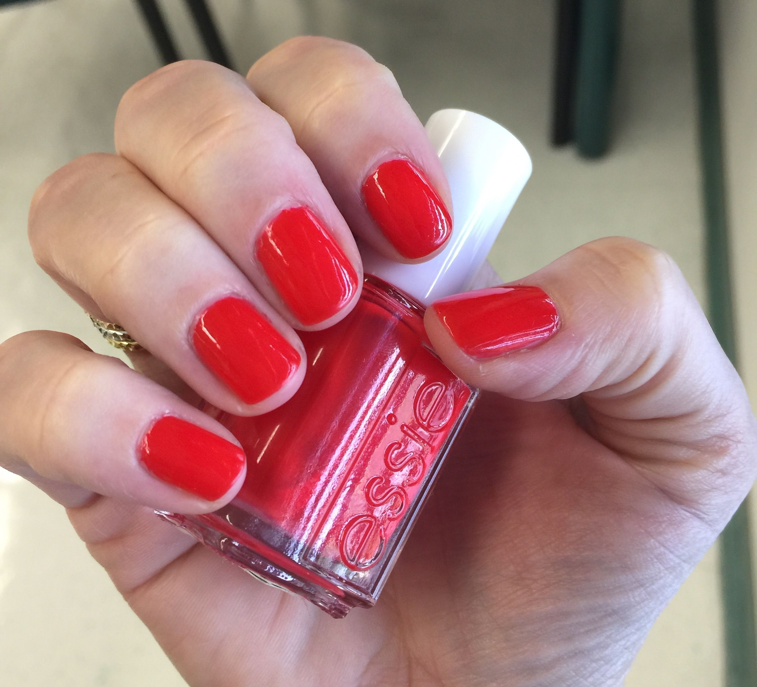 Essie: Geranium | Pretty Polished | Pinterest