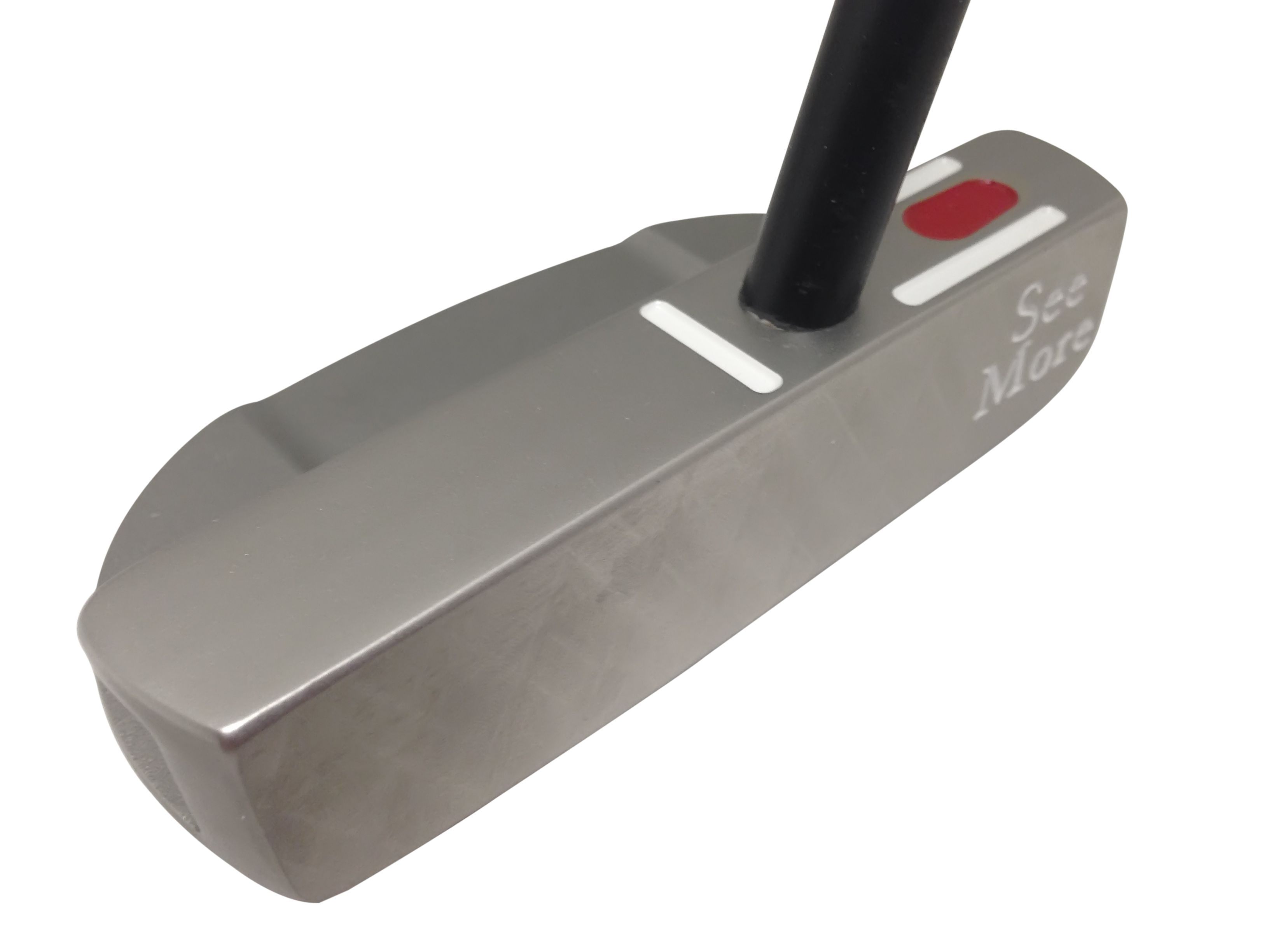 The Precision Tour Milled (PTM3) has been a putter years in the making, a new milled version of original FGP.  Precision Tour Milled (PTM) RifleScope technology where SeeMore starts with a USA stainless steel precision cast head then uses CNC precision milling machines to mill the face, sole, bore hole and RST lines in perfect relation to each other.