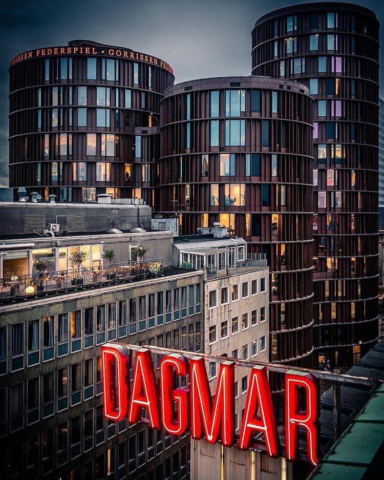 Citizen M Hotel/Rooftop Bar, Copenhagen Hotel rooftop