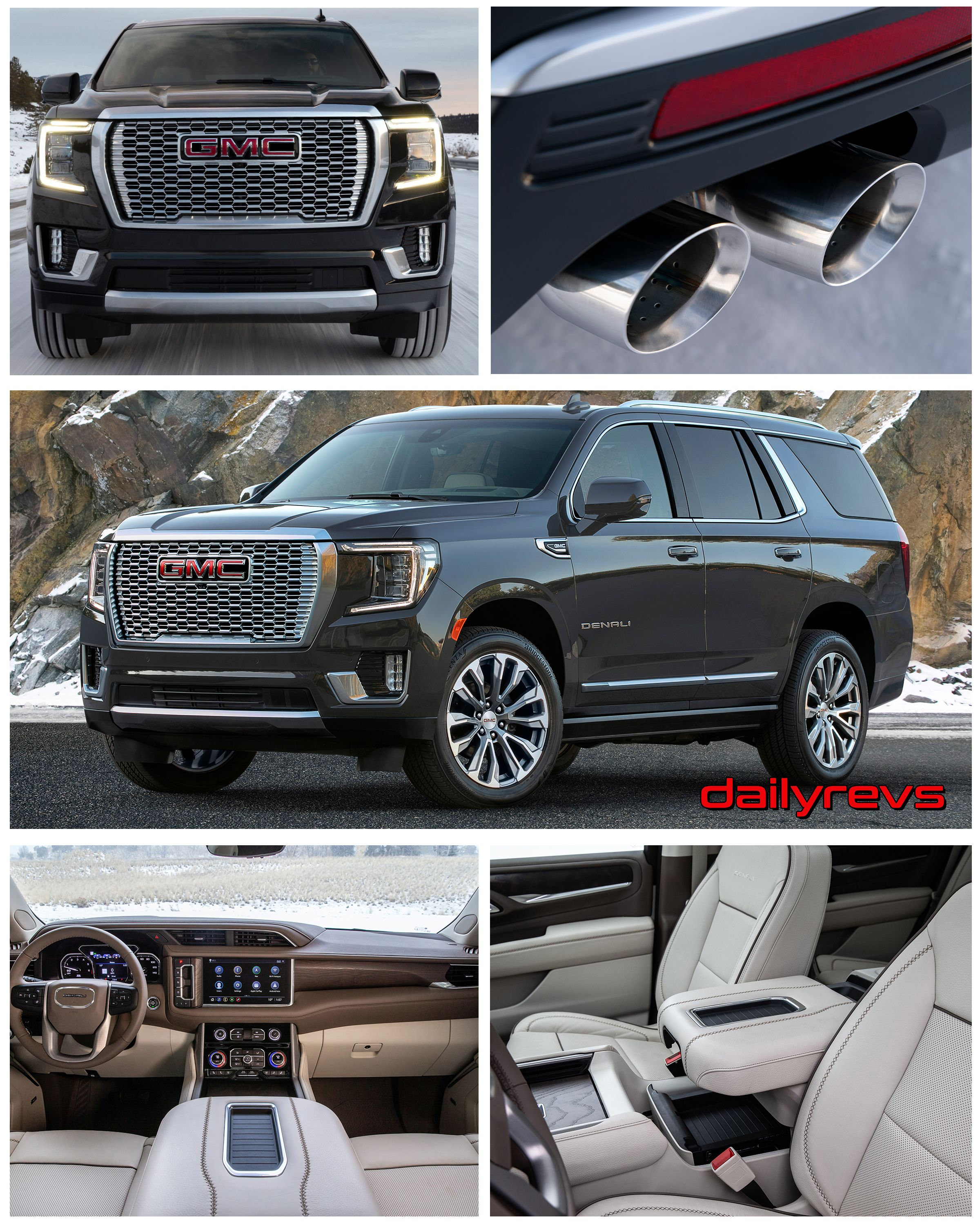 2021 Gmc Yukon Denali Hd Pictures Videos Specs Information