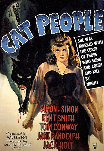 Great Val Lewton Film And A Great Poster Classic Movie Posters Movie Posters Vintage Movie Posters