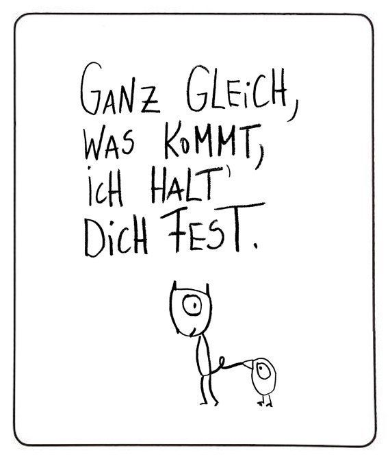 """Magnet """"hold on""""-eDITION GUTE GEISTER"""