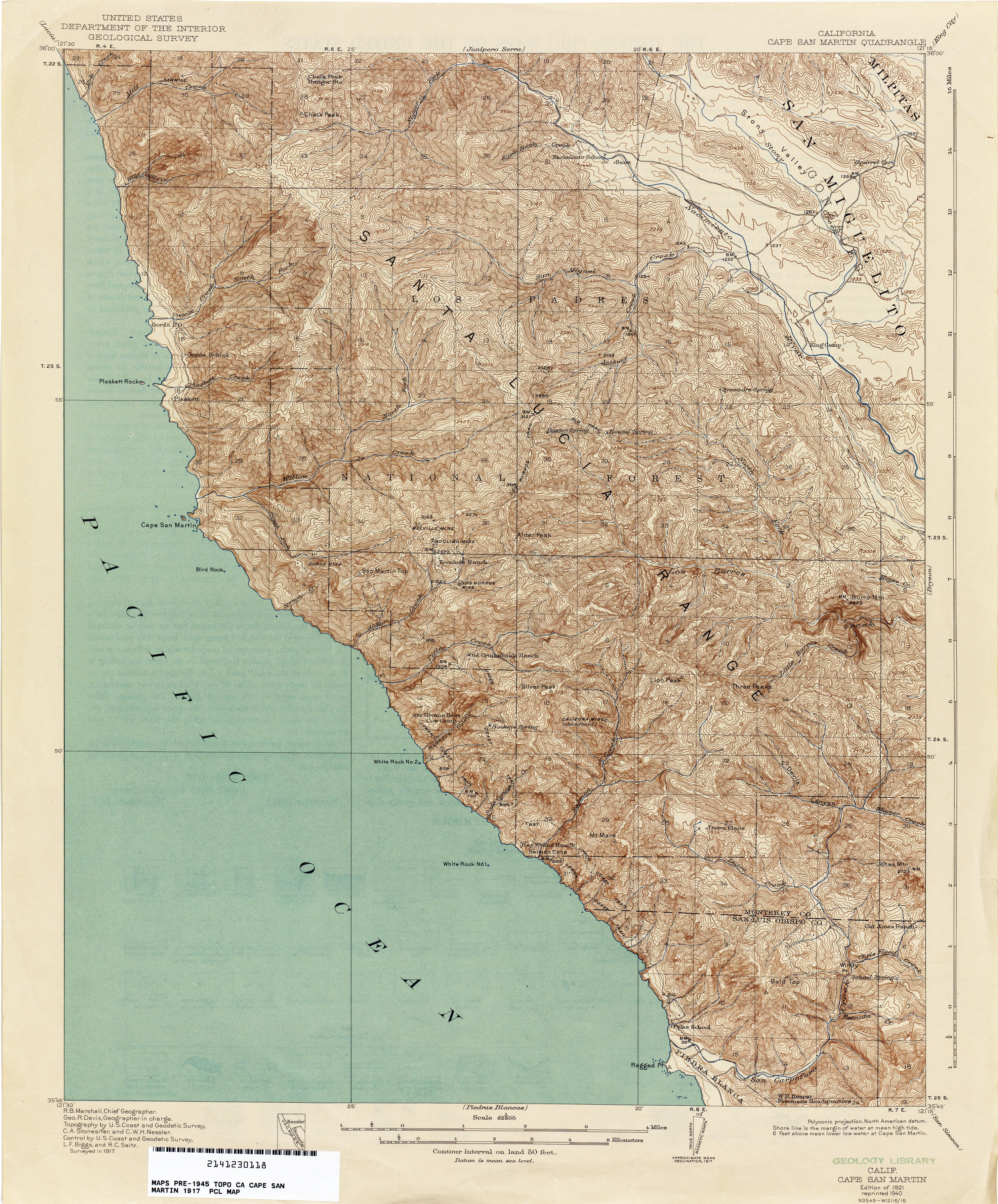 southern california topographic map Google Search
