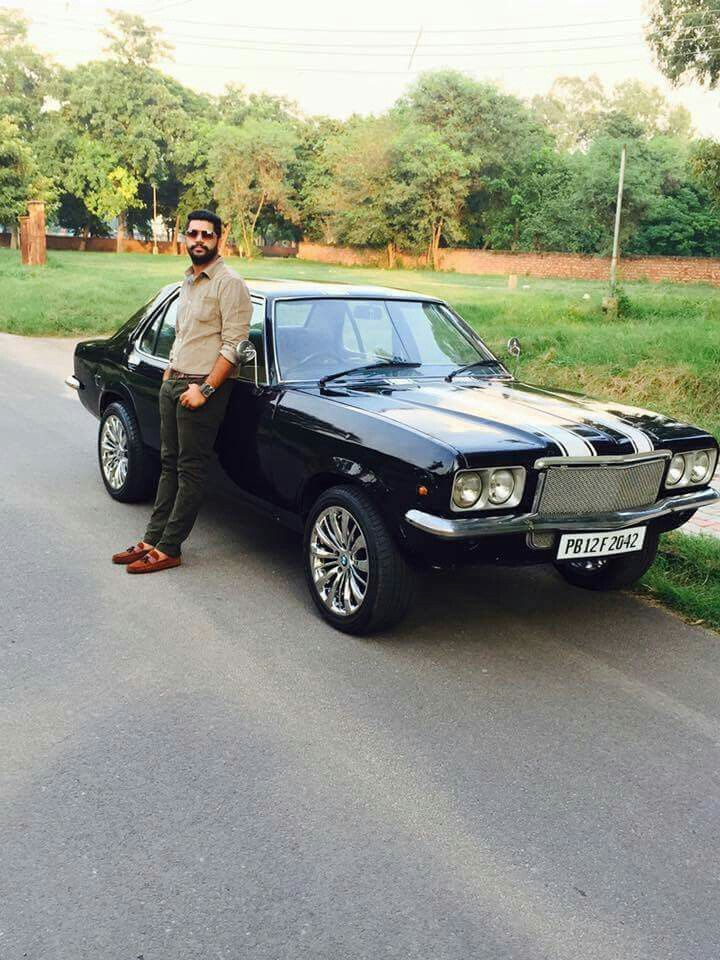 Photo of Hindustan Motors Contessa. What a ride!!!😍 Probably the only muscle car ever …