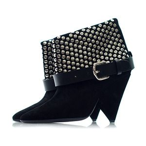 Isabel Marant Otway Studded Booties Profile Photo