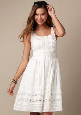 The White Dress Maybe For Sa With Sweater Shrug