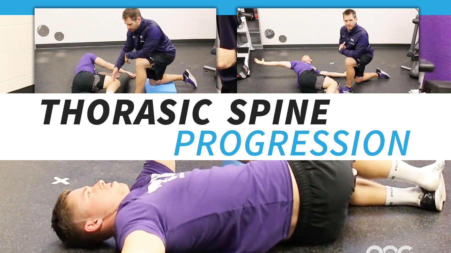 Thoracic Spine Progression For Overhead Athletes The Art Of Coaching Volleyball Strength And Conditioning Coach Circuit Workout Coaching Volleyball