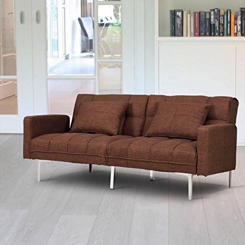 Review Giantex Futon Bed Couch Sofa Modern Reclining Back