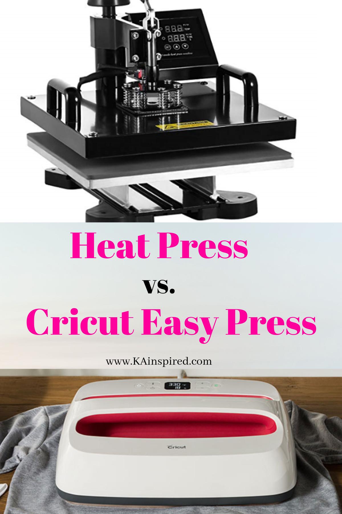 Heat Press Or A Cricut Easypress