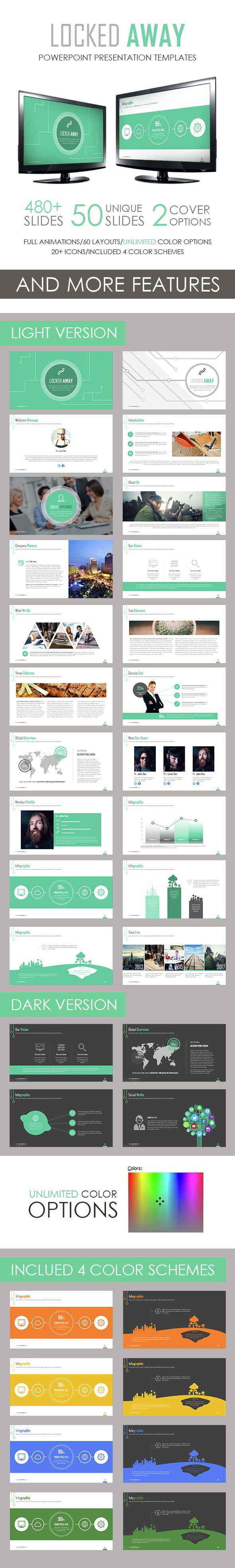 Locked away powerpoint template template ppt design and locked away powerpoint template toneelgroepblik Choice Image
