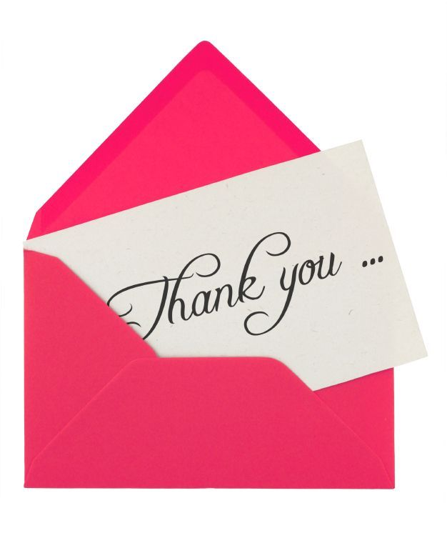 Examples of Words for Thank You Notes { Write thank you notes for