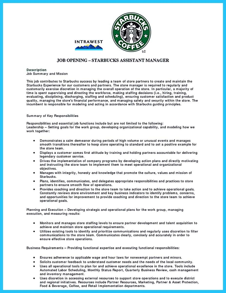 Awesome 30 Sophisticated Barista Resume Sample That Leads To Barista Jobs Barista Job Resume Examples Job Resume Template