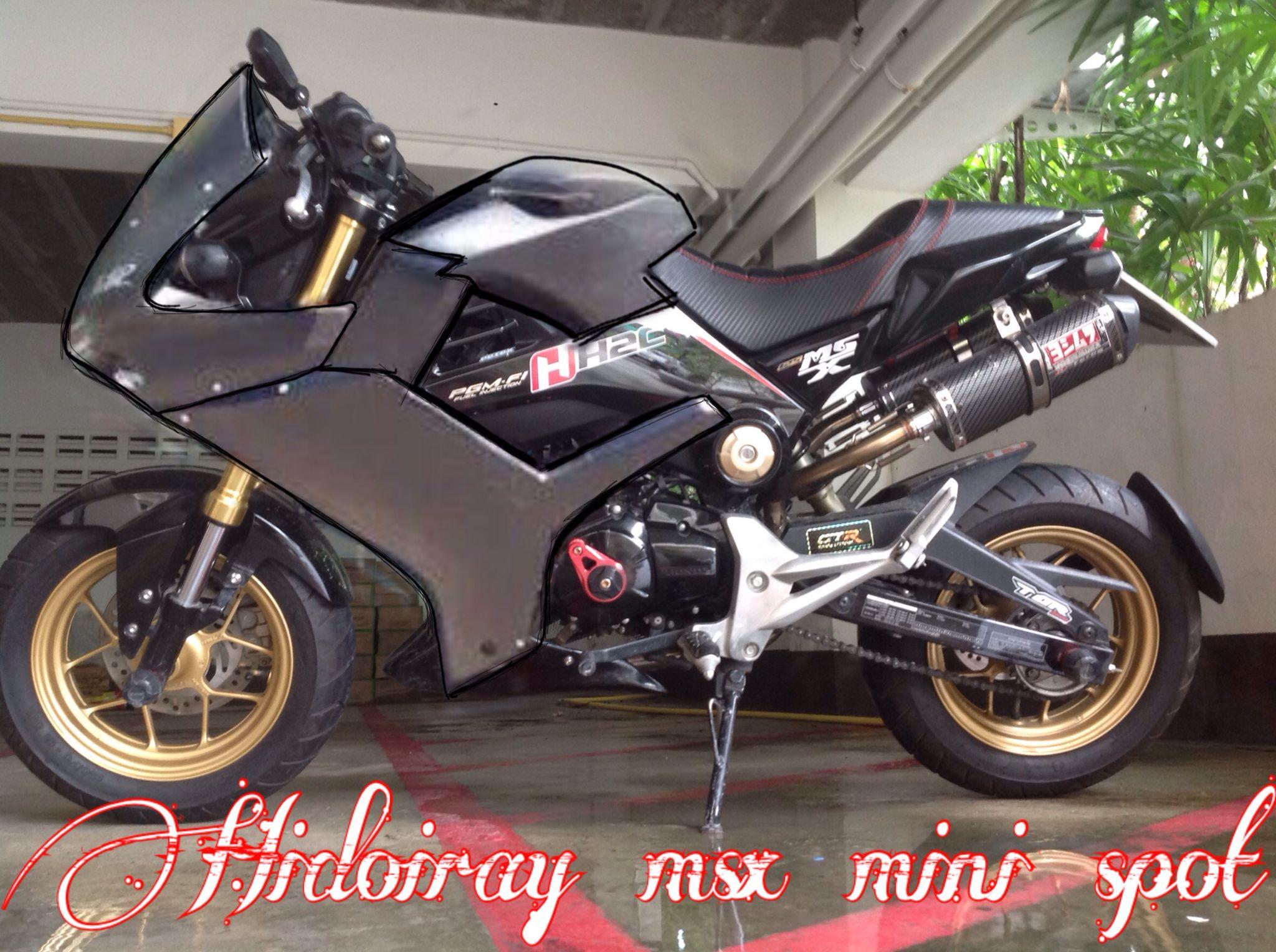 ?? ???? Msx Grom 125 Honda Pinterest Honda Power Bike And
