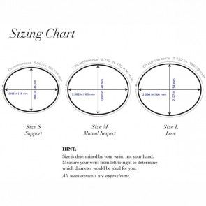 Oval Bangle Size Chart Google Search