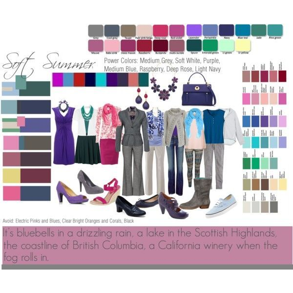 Soft Summer Deep Color Analysis Google Search Color Palette