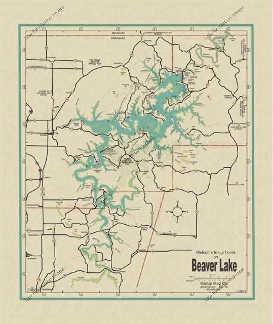 beaver lake arkansas map Beaver Lake Arkansas Map For Sale Leave A Reply Cancel Reply beaver lake arkansas map