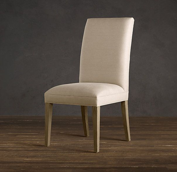 hudson parsons upholstered side chair | fabric arm & side chairs
